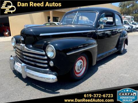 1947 Ford Super Deluxe for sale at Dan Reed Autos in Escondido CA