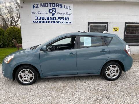 2009 Pontiac Vibe for sale at EZ Motors in Deerfield OH