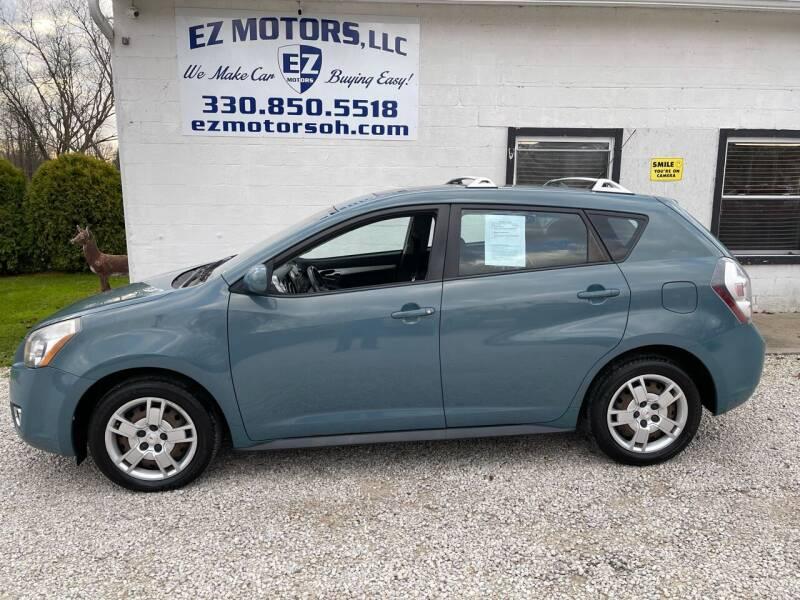2009 Pontiac Vibe for sale at EZ Motors in Deerfield OH