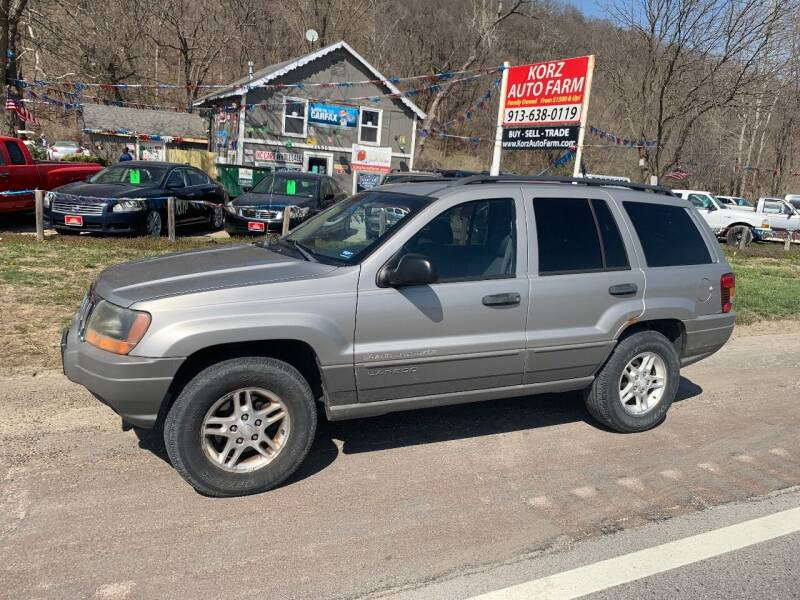 2002 Jeep Grand Cherokee for sale at Korz Auto Farm in Kansas City KS