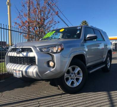 2015 Toyota 4Runner for sale at LUGO AUTO GROUP in Sacramento CA
