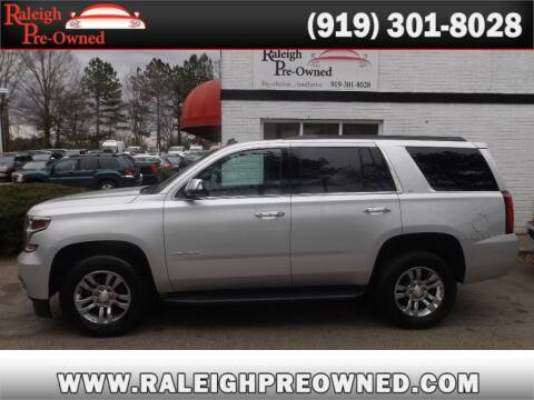 2015 Chevrolet Tahoe for sale at Raleigh Pre-Owned in Raleigh NC