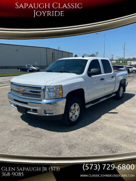 2013 Chevrolet Silverado 1500 for sale at Sapaugh Classic Joyride in Salem MO