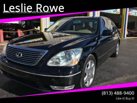 2004 Lexus LS 430 for sale at RoMicco Cars and Trucks in Tampa FL
