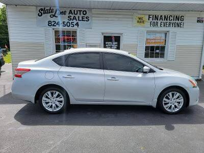 2013 Nissan Sentra for sale at STATE LINE AUTO SALES in New Church VA