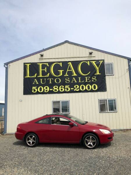 2004 Honda Accord for sale at Legacy Auto Sales in Toppenish WA