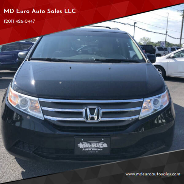 2011 Honda Odyssey for sale at MD Euro Auto Sales LLC in Hasbrouck Heights NJ