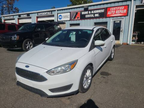 2015 Ford Focus for sale at B & A Automotive Sales in Charlotte NC