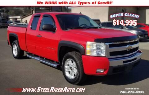 2011 Chevrolet Silverado 1500 for sale at Steel River Auto in Bridgeport OH