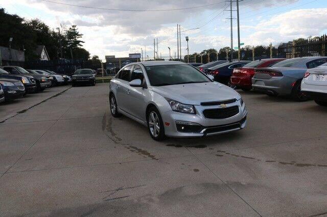2015 Chevrolet Cruze for sale at F & M AUTO SALES in Detroit MI