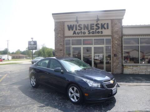 2014 Chevrolet Cruze for sale at Wisneski Auto Sales, Inc. in Green Bay WI