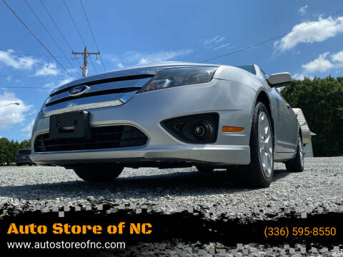 2011 Ford Fusion for sale at Auto Store of NC in Walkertown NC