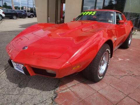 1975 Chevrolet Corvette for sale at Auto Wholesalers Of Hooksett in Hooksett NH