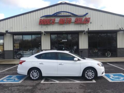 2017 Nissan Sentra for sale at DOUG'S AUTO SALES INC in Pleasant View TN