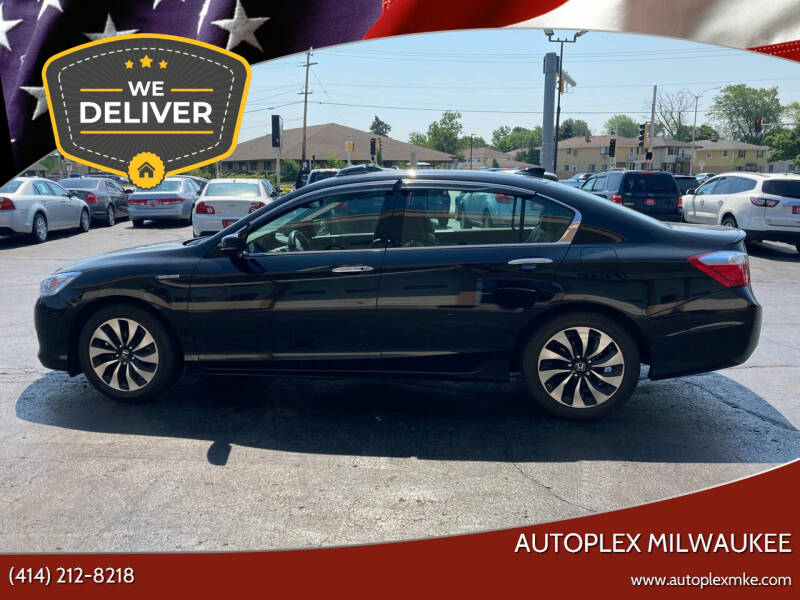 2015 Honda Accord Hybrid for sale at Autoplex MKE in Milwaukee WI