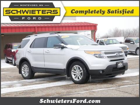 2013 Ford Explorer for sale at Schwieters Ford of Montevideo in Montevideo MN