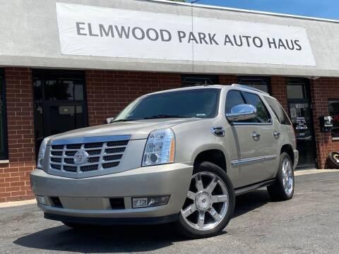 2009 Cadillac Escalade Hybrid for sale at Elmwood Park Auto Haus in Elmwood Park IL