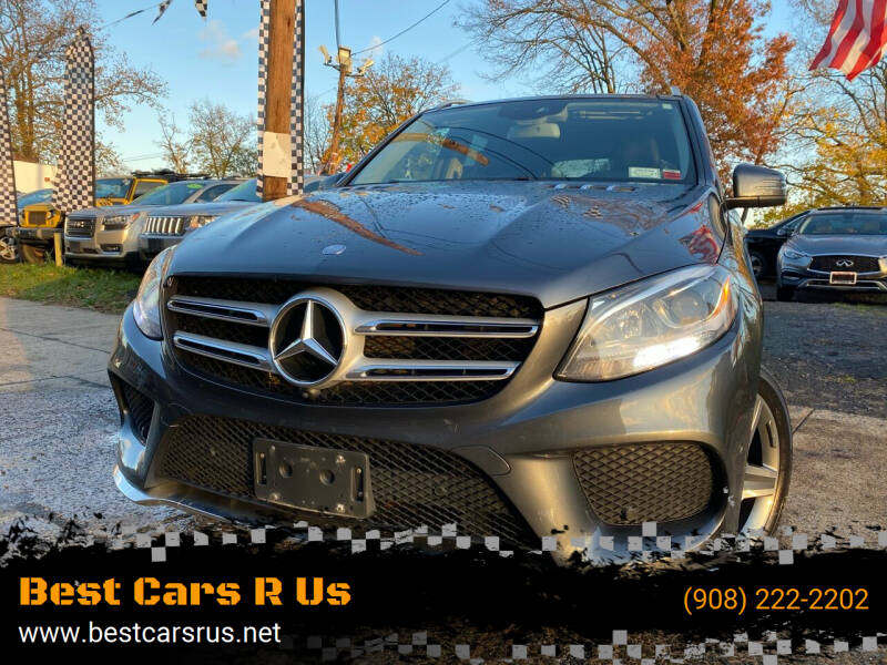 2016 Mercedes-Benz GLE for sale at Best Cars R Us in Plainfield NJ