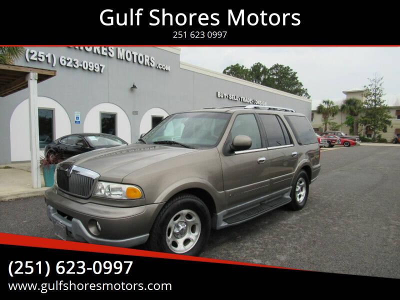 2001 Lincoln Navigator for sale at Gulf Shores Motors in Gulf Shores AL