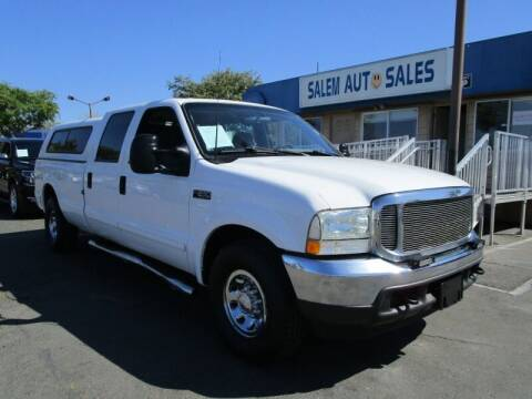 2002 Ford F-250 Super Duty for sale at Salem Auto Sales in Sacramento CA