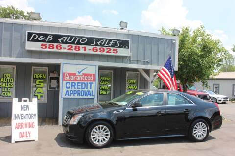 2013 Cadillac CTS for sale at D & B Auto Sales LLC in Washington Township MI
