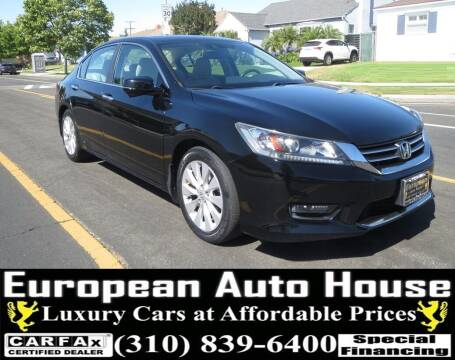 2014 Honda Accord for sale at European Auto House in Los Angeles CA