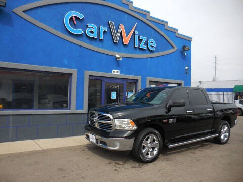 2014 RAM Ram Pickup 1500 for sale at Carwize in Detroit MI