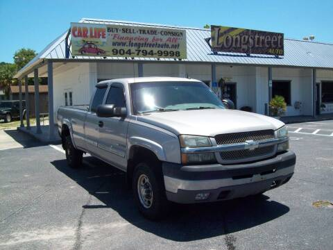 2004 Chevrolet Silverado 2500HD for sale at LONGSTREET AUTO in St Augustine FL