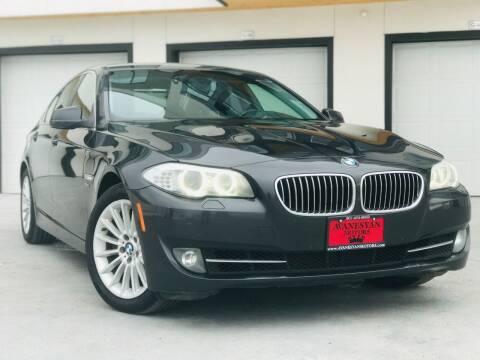 2011 BMW 5 Series for sale at Avanesyan Motors in Orem UT