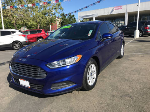 2016 Ford Fusion for sale at Autos Wholesale in Hayward CA