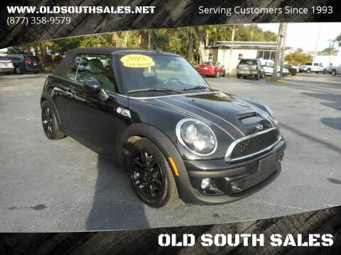 2015 MINI Convertible for sale at OLD SOUTH SALES in Vero Beach FL