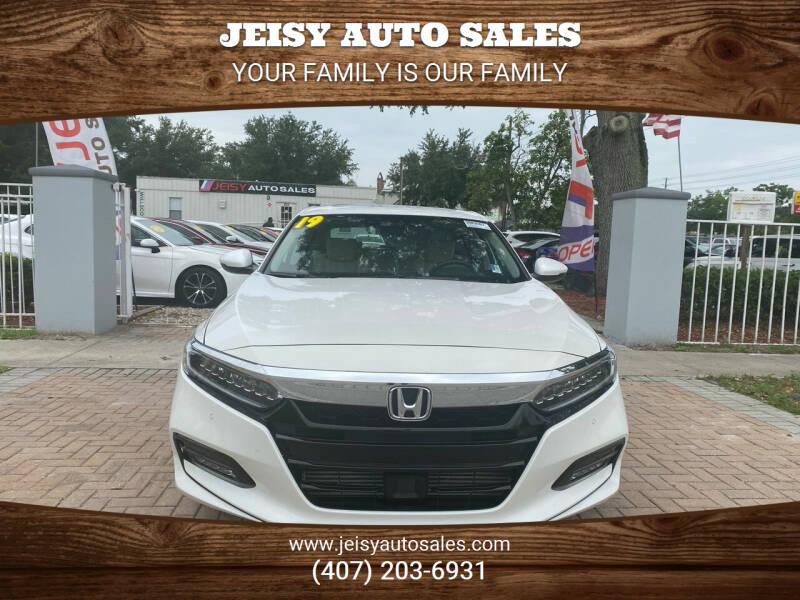 2019 Honda Accord for sale at JEISY AUTO SALES in Orlando FL