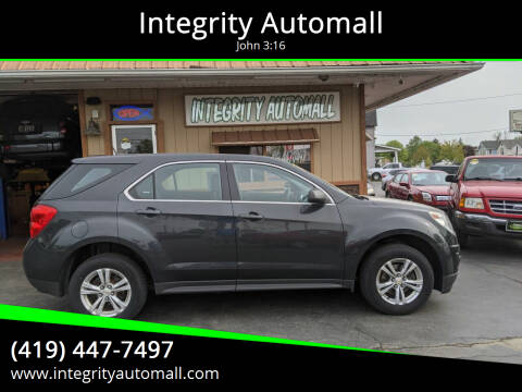2014 Chevrolet Equinox for sale at Integrity Automall in Tiffin OH