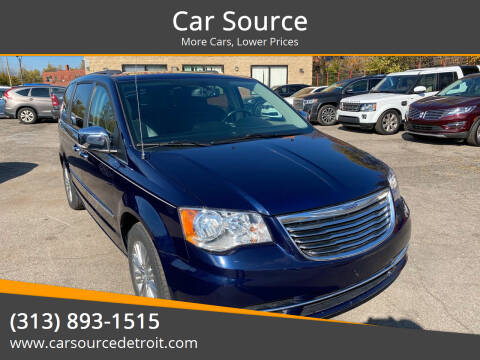 2016 Chrysler Town and Country for sale at Car Source in Detroit MI