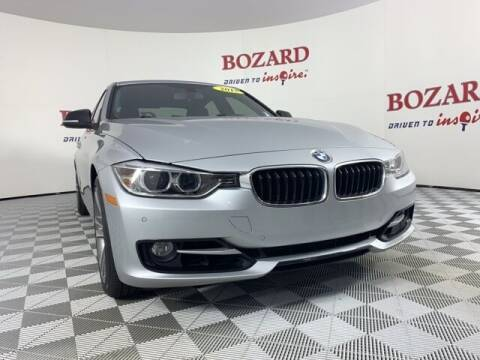 2015 BMW 3 Series for sale at BOZARD FORD in Saint Augustine FL