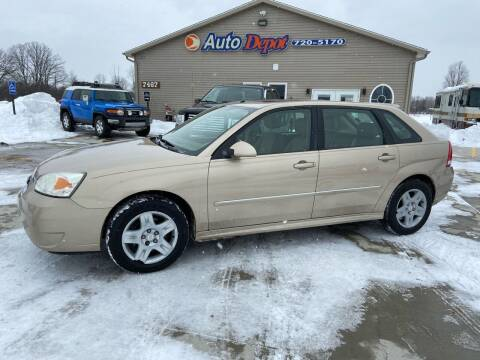 2006 Chevrolet Malibu Maxx for sale at The Auto Depot in Mount Morris MI