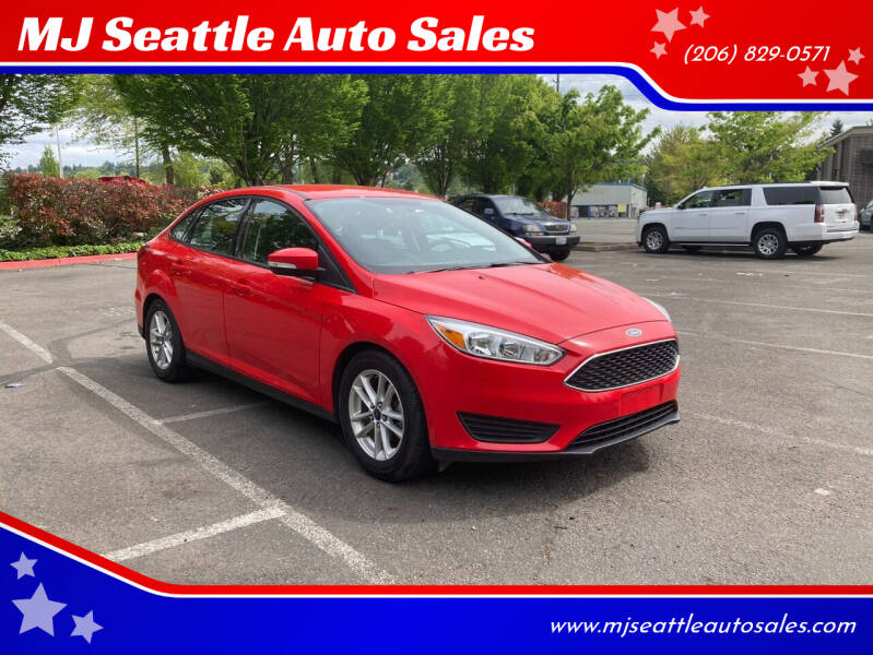 2016 Ford Focus for sale at MJ Seattle Auto Sales in Kent WA