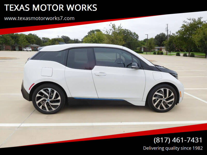 2017 BMW i3 for sale at TEXAS MOTOR WORKS in Arlington TX
