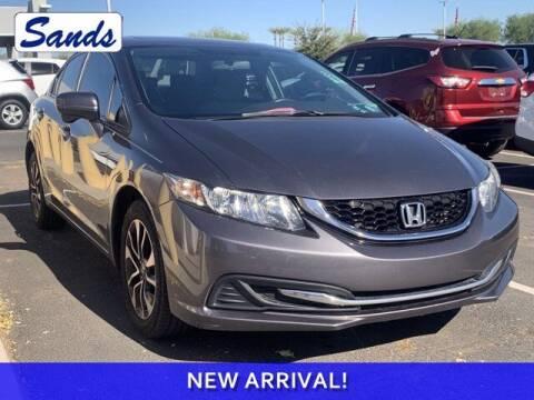 2014 Honda Civic for sale at Sands Chevrolet in Surprise AZ