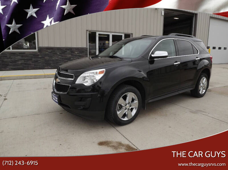 2015 Chevrolet Equinox for sale at The Car Guys in Atlantic IA