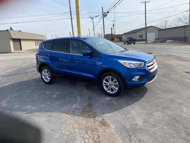 2017 Ford Escape for sale at Bruce Kunesh Auto Sales Inc in Defiance OH