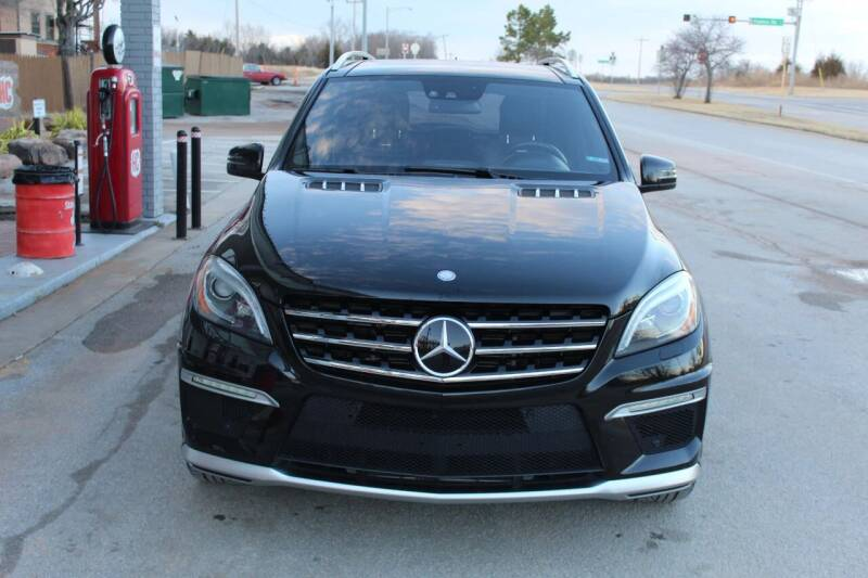2013 Mercedes-Benz M-Class for sale at CANTWEIGHT CLASSICS in Maysville OK
