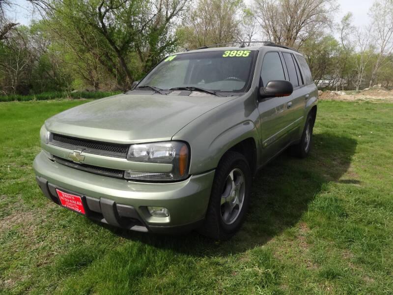 2004 Chevrolet TrailBlazer for sale at John's Auto Sales in Council Bluffs IA
