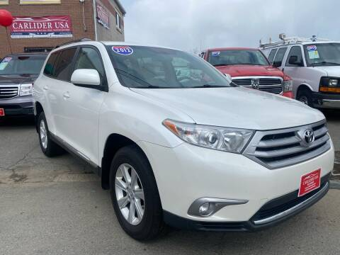 2012 Toyota Highlander for sale at Carlider USA in Everett MA