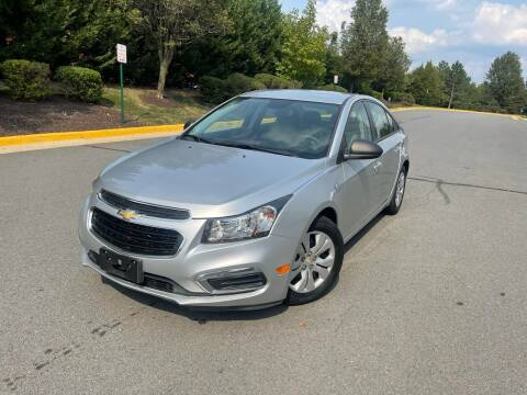 2015 Chevrolet Cruze for sale at Aren Auto Group in Sterling VA