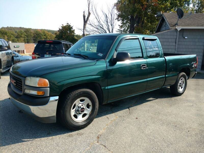 2001 GMC Sierra 1500 for sale at Auto Brokers of Milford in Milford NH