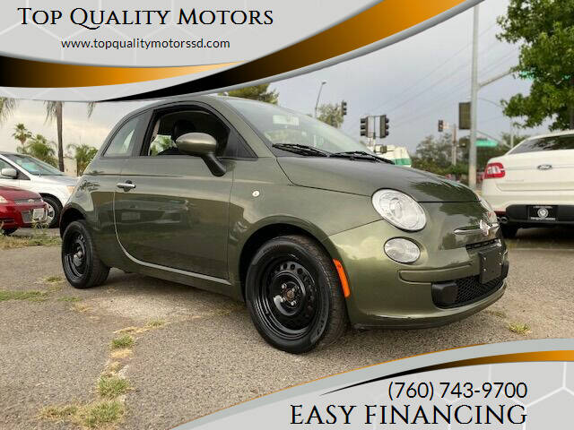 2012 FIAT 500 for sale at Top Quality Motors in Escondido CA