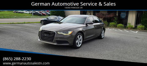 2012 Audi A6 for sale at German Automotive Service & Sales in Knoxville TN