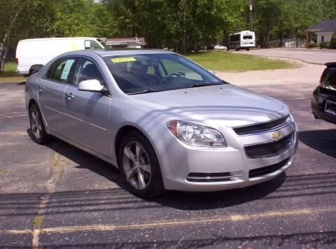 2012 Chevrolet Malibu for sale at LAKESIDE MOTORS LLC in Houghton Lake MI