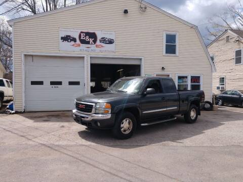 2003 GMC Sierra 1500 for sale at E & K Automotive in Derry NH